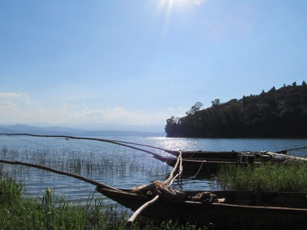 Fishing Boats on Lake Kivu