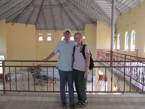 Building of the cathedral (this is where we will attend church)